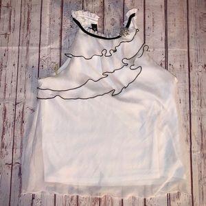 Ruffle Dress Top BCX Size XL